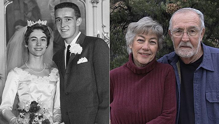 Prescott residents Larry and Carol Bessel were married on Dec. 27, 1960, in Harvey, North Dakota.(Courtesy)
