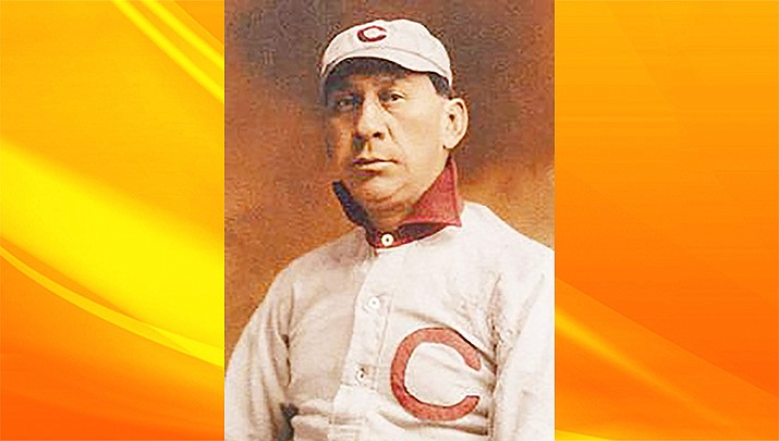 """Legend has it when Cleveland was looking for a new nickname after the 1914 season, it adopted """"Indians"""" in honor of Louis Sockalexis, who was an outfielder for the Cleveland Spiders between 1897-99. (New England Historical Society)"""