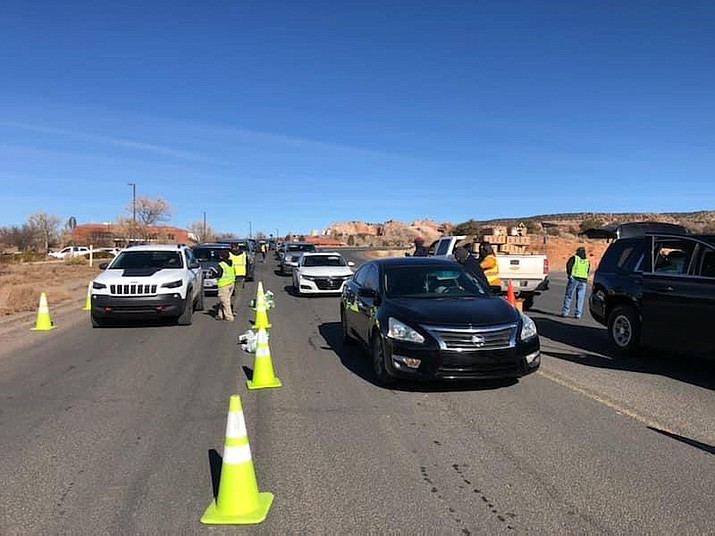The Navajo Nation has re-implemented its lockdown order through Jan. 11. (Photo/OPVP)