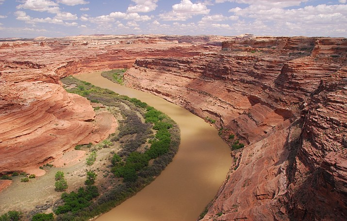 The Green River is located in southeastern Utah near Canyonlands National Park. On Dec. 21, conservation groups sued the Bureau of Land Management, challenging a 1,400 acre lease for helium extraction. (Photo/Southern Utah Wilderness Alliance)