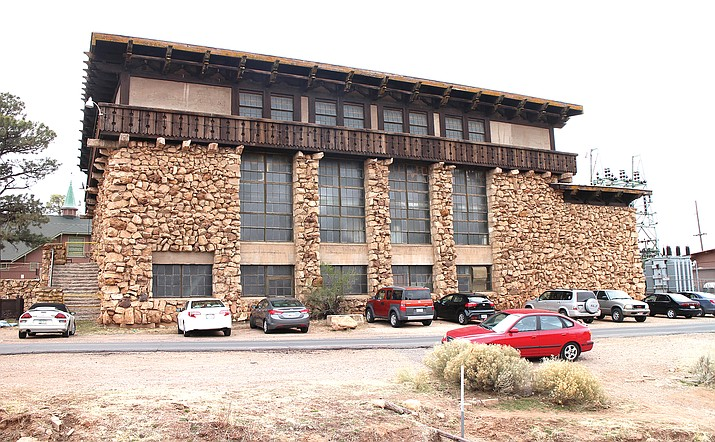 The Grand Canyon's historical Powerhouse building has been targeted for rehabilitation with federal funding. (Photo/NPS)
