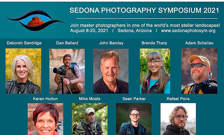 The Sedona Photography Symposium brings world-class photographers to Sedona, Arizona, Aug. 12-15, for a series of presentations, workshops, field outings, and breakout sessions at the Sedona Creative Life Center.