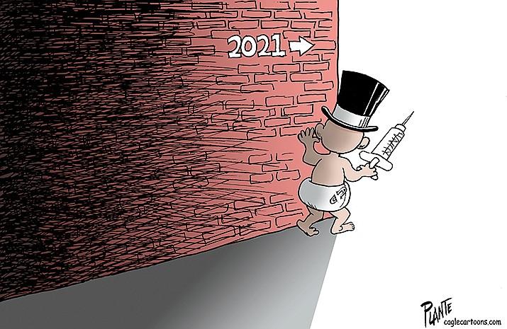 Editorial Cartoon   Jan. 1, 2021