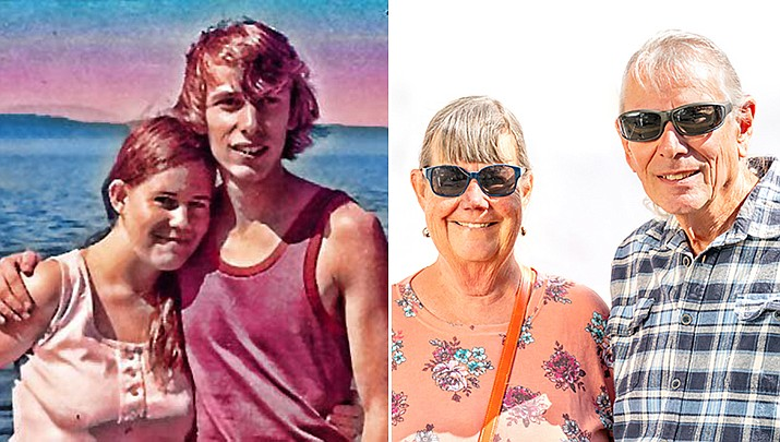 Randy and LaRae Parks are celebrating their 50th wedding anniversary. They met in 1970 at Salt Lake City. (Courtesy)