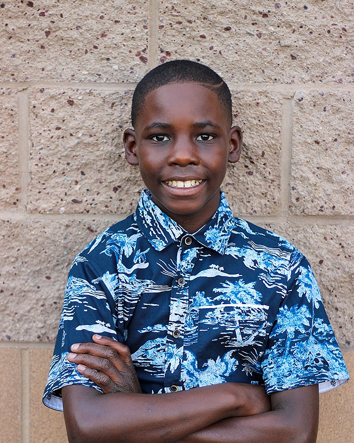 Get to know Tirahji at https://www.childrensheartgallery.org/profile/tirahji and other adoptable children at childrensheartgallery.org. (Arizona Department of Child Safety)
