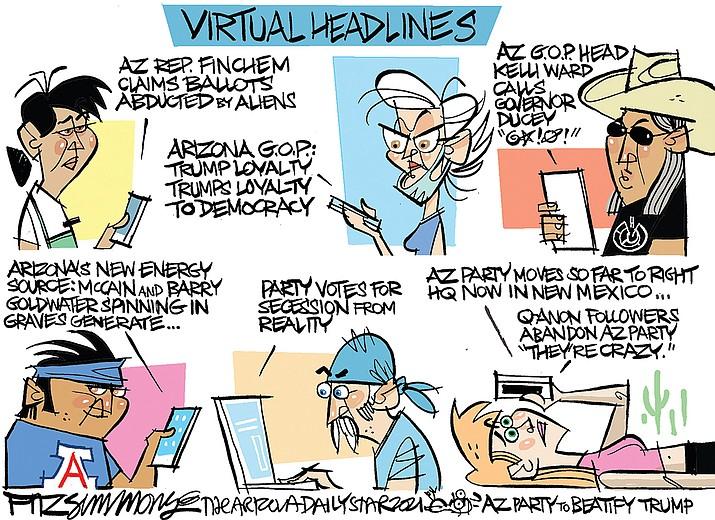 Editorial cartoon (1): Jan. 4, 2021