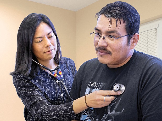 The reauthorization of a Special Diabetes Program for Indians (SPDI) allows for continued services addressing health issues on tribal lands. The program was signed into law by President Donald Trump Dec. 27. (Photo courtesy of Indian Health Services)