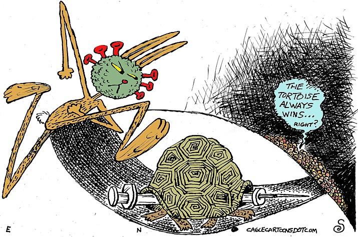 Editorial cartoon (2): Jan. 6, 2021