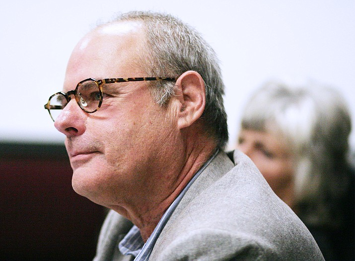 Cottonwood-Oak Creek Board President Eric Marcus said that when the district's campuses reopen, in-person learning would be available Monday through Thursday, with Friday a virtual learning day for all students. VVN/Bill Helm