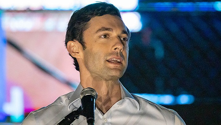 Jon Ossoff joined fellow Democrat Raphael Warnock in the winner's circle after the pair won their U.S. Senate runoff elections in Georgia on Tuesday, Jan. 5, swinging the majority to the Democrats. (Photo by John Ramspott, cc-by-sa-2.0, https://bit.ly/3pXiu4I)