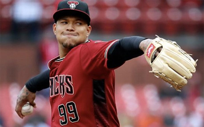 Former Arizona Diamondbacks pitcher Taijuan Walker has said during his various MLB stops, he is often the only Black player in the clubhouse. (Photo courtesy Arizona Diamondbacks)