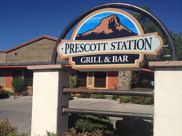"""Prescott Station Grill & Bar, 200 W. Gurley St., recently closed because of Yavapai County Health Department code violations, but a health department official says """"there are several interested entities looking to purchase the place."""" (Courtesy photo)"""
