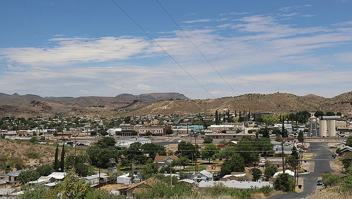 The City of Kingman Planning and Zoning Commission will hold a public hearing on proposed changes to the city's zoning code at its meeting on Tuesday, Jan. 12. An overview of downtown Kingman is shown. (Miner file photo)