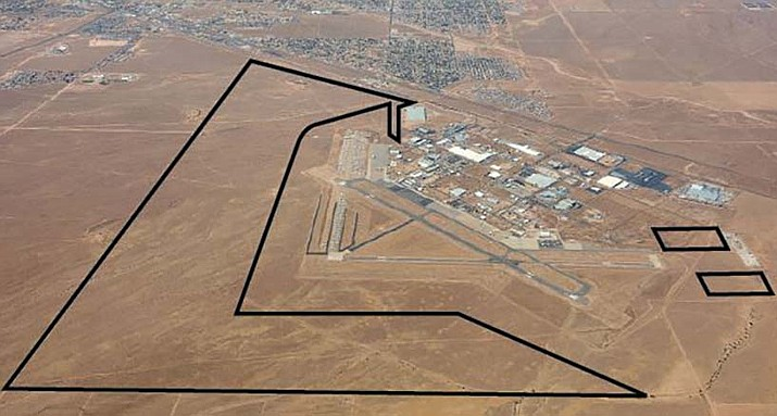 Kingman City Council has approved the master plan for the Kingman Airport, shown above. (City of Kingman courtesy photo)