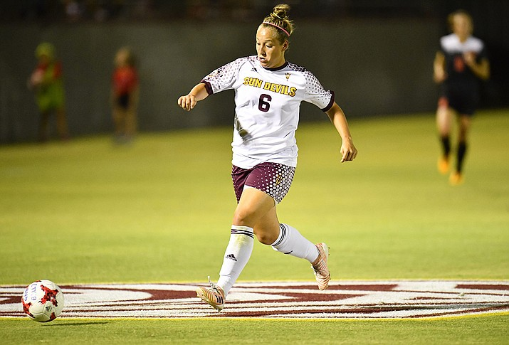 """Lara Barbieri said that in her home country of Brazil, """"everybody basically breathes soccer."""" ( Sun Devil Athletics/Courtesy)"""