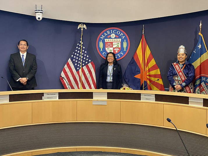 Deborah Ann Begay becomes the first Native American to be elected to serve as judge with the Moon Valley Justice of the Peace in Maricopa County. (Photo/OPVP)