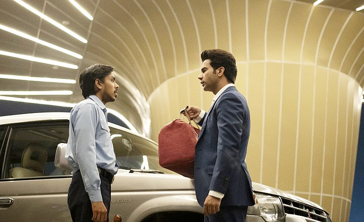 "The Mary D. Fisher Theatre will present the acclaimed new film ""The White Tiger"" showing Jan. 15-21 at the Mary D. Fisher Theatre. Pictured, Adarsh Gourav (left) and Rajkummar Rao (right)."