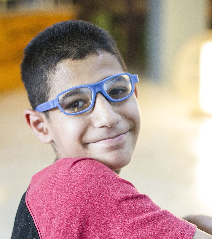 Get to know Yahya at https://www.childrensheartgallery.org/profile/yahya and other adoptable children at childrensheartgallery.org. (Arizona Department of Child Safety)