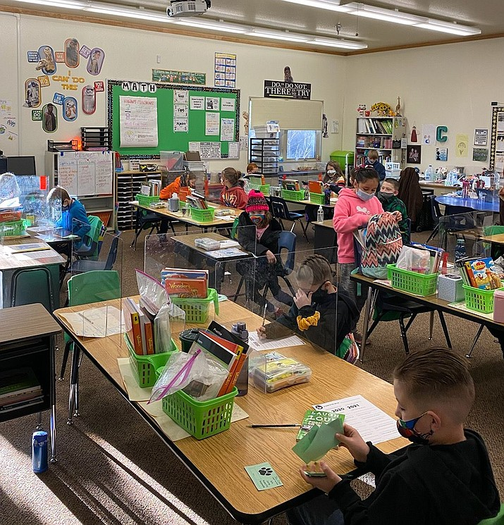 A classroom at Coyote Springs Elementary School. (HUSD/Courtesy)