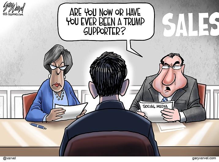 Editorial cartoon (2): Jan. 15, 2021