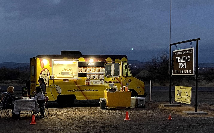 Go Bananas offers frozen banana treats across the Verde Valley. Call 651-503-6368 for more information. VVN/Bill Helm