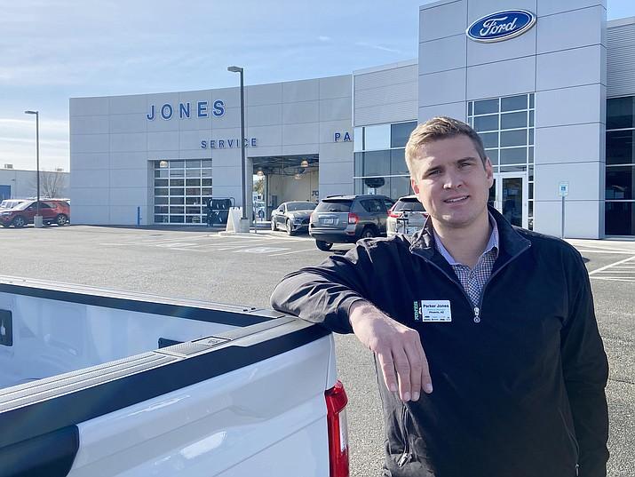 Since June 2020, Parker Jones has been general manager of Jones Ford Verde Valley. VVN/Bill Helm