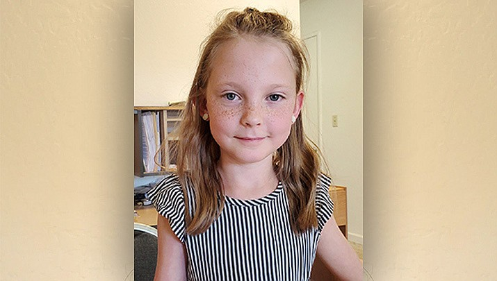 Mackenzie, from Humboldt Elementary, is this week's HUSD Student of the Week. (Courtesy)