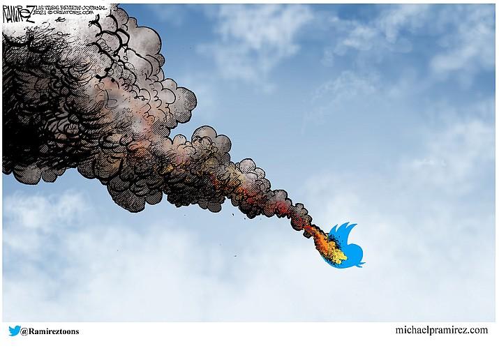 Editorial cartoon (1): Jan. 16, 2021