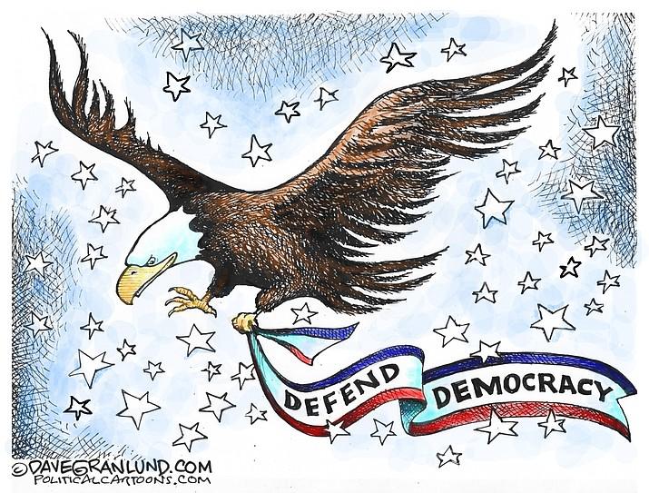 Editorial cartoon (1): Jan. 18, 2021