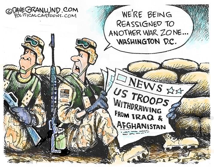 Editorial cartoon (2): Jan. 17, 2021