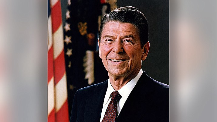 President Ronald Reagan began the tradition of presidents leaving a note for their successor in 1989 when he penned a note to incoming President George H.W. Bush. It is not known if that tradition will end when President Trump leaves office on Wednesday, Jan. 20, giving way to Joe Biden. (Official White House photo/Public domain)
