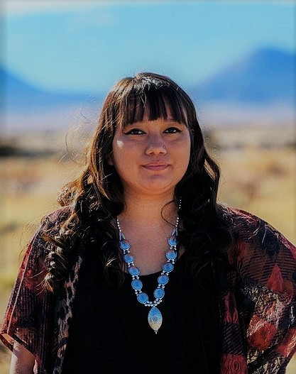 Shaina A. Nez was recently published in Massachusetts Review. (Photo/Diné College)