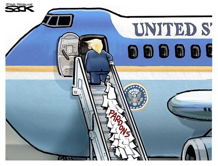 Editorial cartoon (1): Jan. 21, 2021