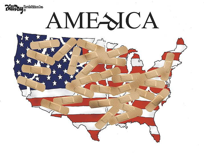 Editorial cartoon (2): Jan. 21, 2021