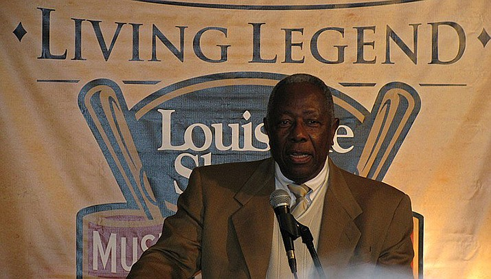 Baseball great and one-time home run king Hank Aaron died Friday, Jan. 22 in Atlanta. He was 86. (Photo by Aaron Vowels, cc-by-sa-2.0, https://bit.ly/365nug6)