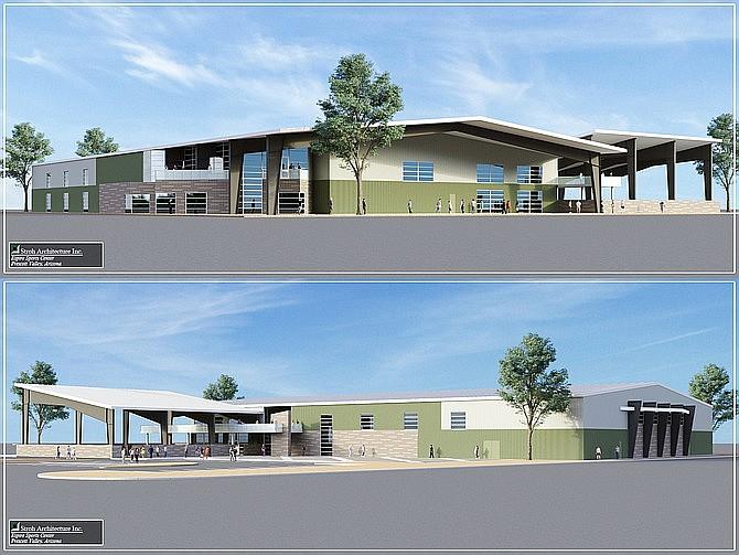 Artist's rendering of Espire Sports Center & RV Resort/Courtesy