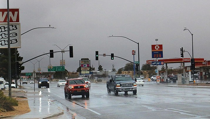 Rain is in the forecast for Kingman on Friday, Jan. 29. (Miner file photo)