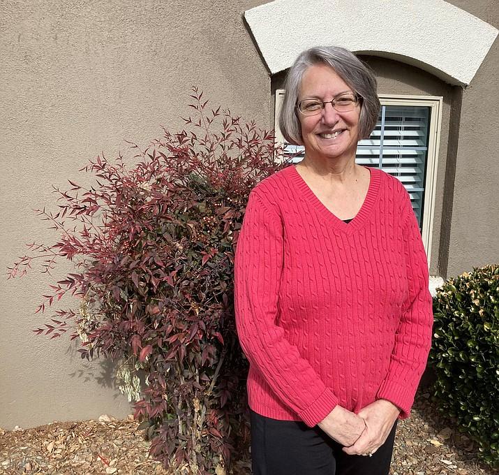 """Deb Dillon, a self-described """"obsessive planner,"""" is the new president of Prescott Unified School District's board. (Nanci Hutson/Courier)"""