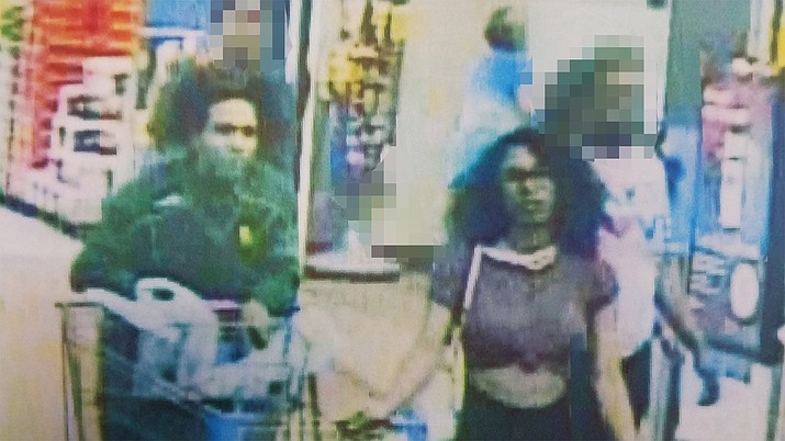 In mid-2019, Lufkin (Texas) police identified the woman on the right — from this image from security video release by authorities — who is accused of licking ice cream and placing the product back on the shelf. She now faces charges of up to 20 years in jail, media reported. (Lufkin Police Dept.)