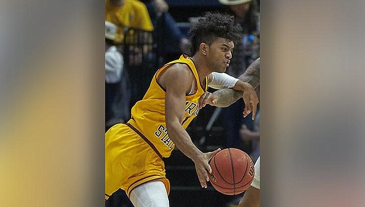 Remy Martin scored 23 points to lead Arizona State to a 79-75 win over Stanford on Saturday, Jan. 30. (Photo by Ron Sellers, cc-by-sa-2.0, https://bit.ly/39Cyfsz)