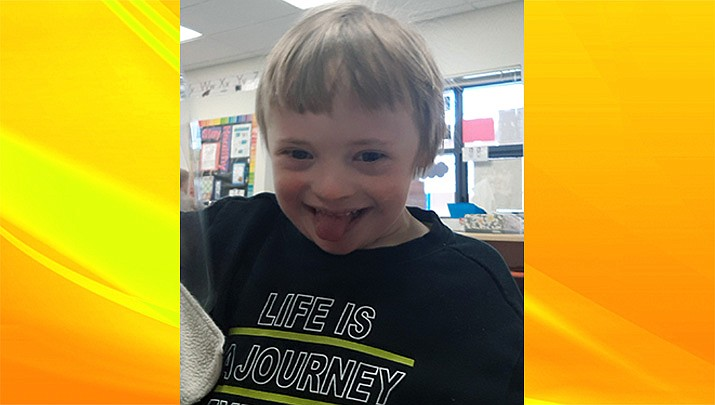 Hunter, a preschooler at Bright Futures Preschool, is this week's Humboldt Unified School District Student of the Week. (HUSD)