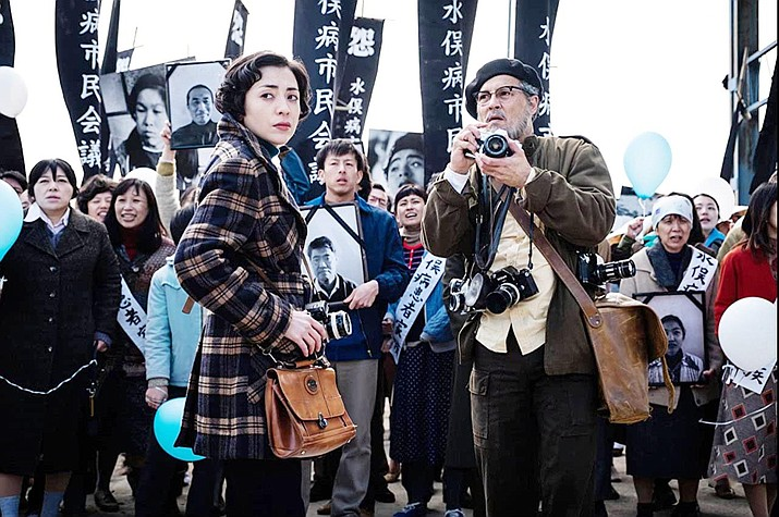Johnny Depp and Minami star in 'Minamata.' American International Pictures
