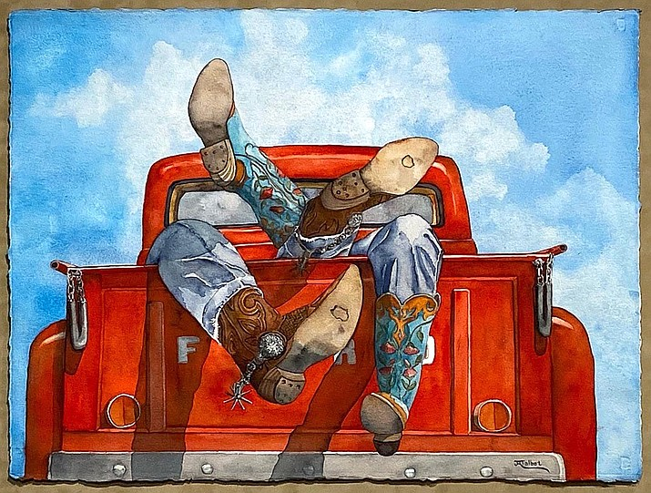 'Texas Two Step Ford,' by Julie Ronning Talbot.