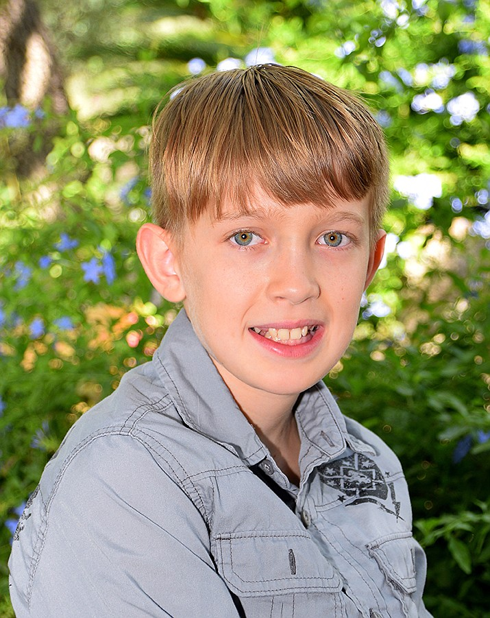 Get to know Ethan at https://www.childrensheartgallery.org/profile/ethan and other adoptable children at childrensheartgallery.org. (Arizona Department of Child Safety)