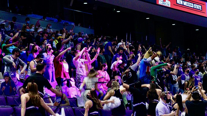 The Havocs give Grand Canyon University a high energy fan base but the school is also concerned about student safety. (Photo by Jordan Spurgeon/Cronkite News)