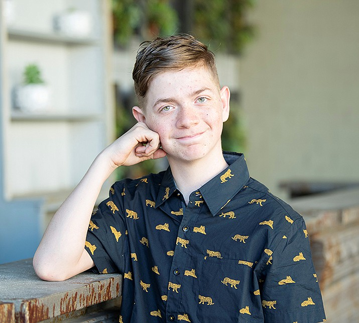 Get to know Kannon at https://www.childrensheartgallery.org/profile/kannon and other adoptable children at childrensheartgallery.org. (Arizona Department of Child Safety)