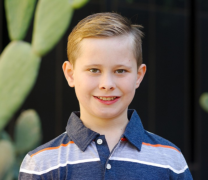 Get to know Matthew at https://www.childrensheartgallery.org/profile/matthew-t and other adoptable children at childrensheartgallery.org. (Arizona Department of Child Safety)