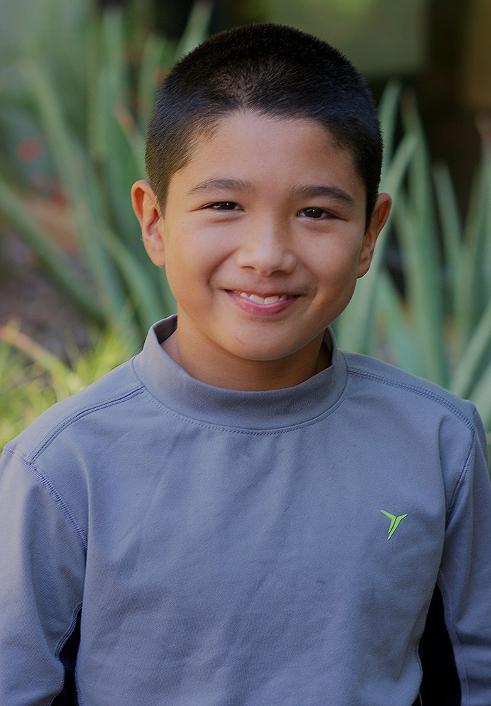 Get to know Roberto at https://www.childrensheartgallery.org/profile/roberto and other adoptable children at childrensheartgallery.org. (Arizona Department of Child Safety)