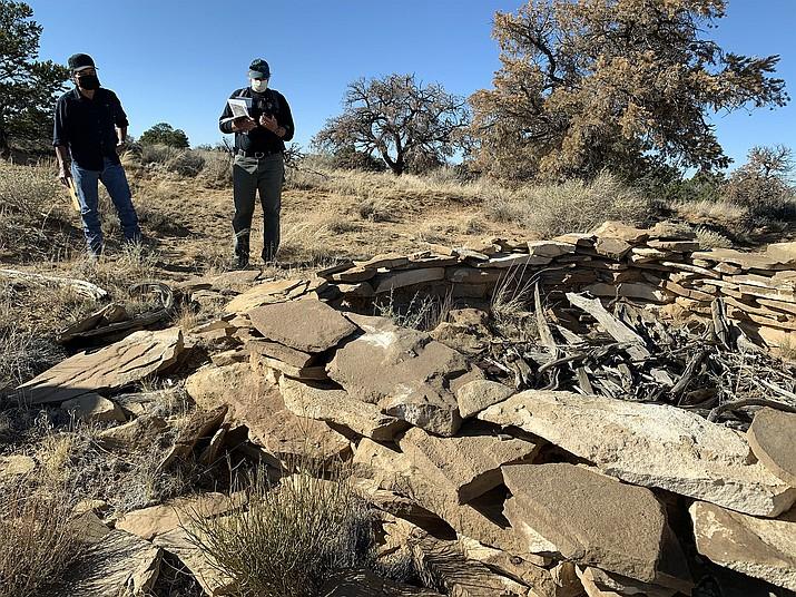 Navajo Technical University is seeking community approval for a new trails network. The identified trails network were named after the four original Diné clans: Kin yaa'áanii Trail, Honághááhnii Trail, Tó dích'íinii Trail, and Hashtl'ishnii Trail. (Photo/Navajo Technical University)
