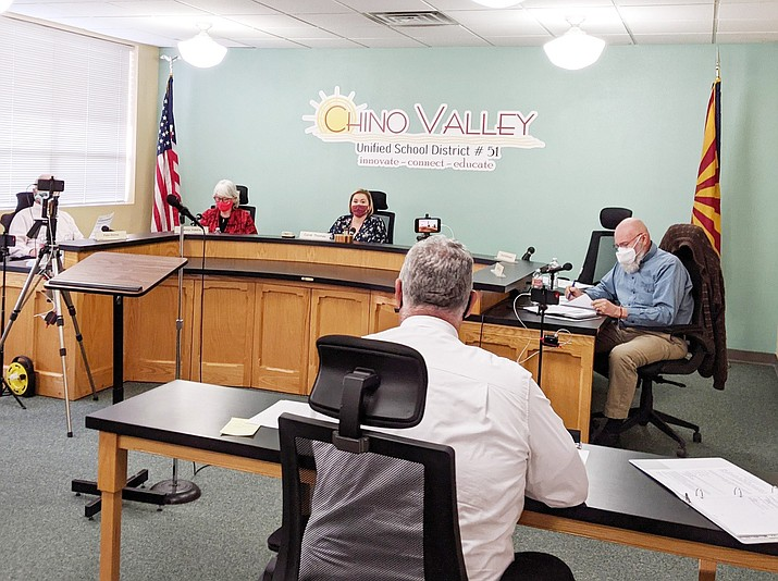 The Chino Valley Unified School District governing board voted unanimously during a meeting on Monday, Feb. 8, 2021, to switch back to full in-person instruction for all grades starting Feb. 16, 2021. (CVUSD, Facebook/Courtesy)